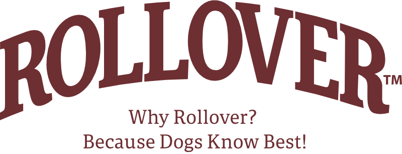 Rollover Pet Food - Logo with Tagline Red