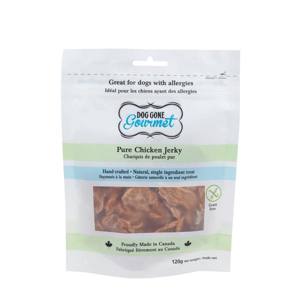 Rollover Premium Pet Food - 011 - DGG Pure Chicken Jerky 120g - DG-PCJ-120