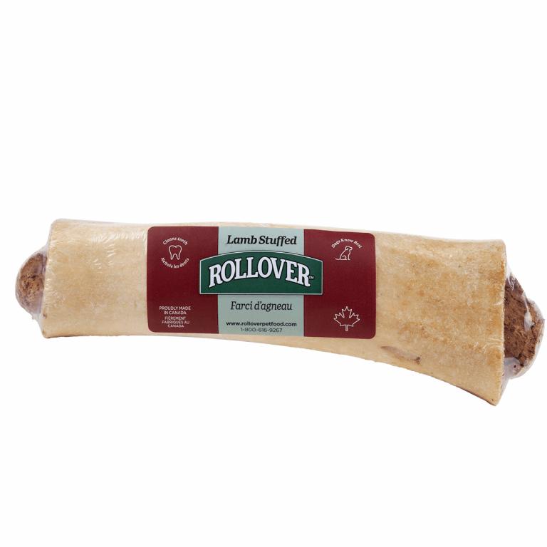 Rollover Premium Pet Food - 065 - Large Lamb Stuffed Beef Bone - 60-902-L