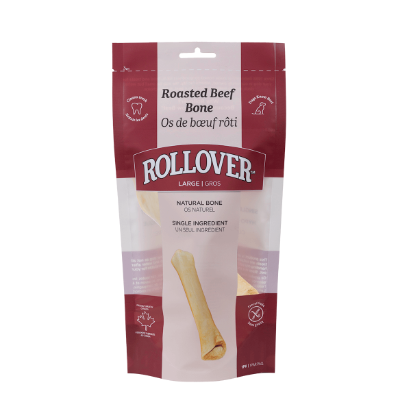 Rollover Premium Pet Food - 067 - Large Roasted Beef Bone - 63-009-1