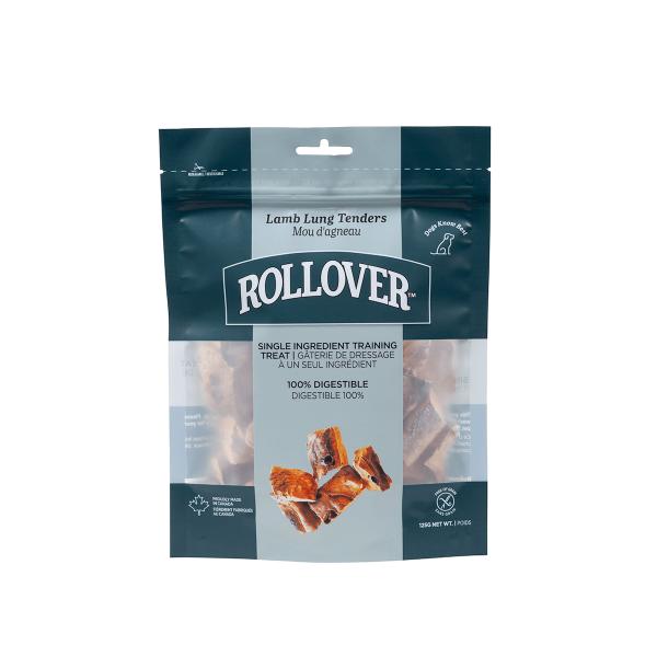 Rollover Premium Pet Food - 077 - Lamb Lung Tenders 125g - 20-125-1