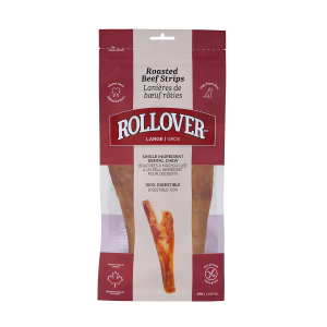 Rollover Premium Pet Food - 095 - Large Roasted Beef Strips 2pk (11 - 12_) - 40-112-1