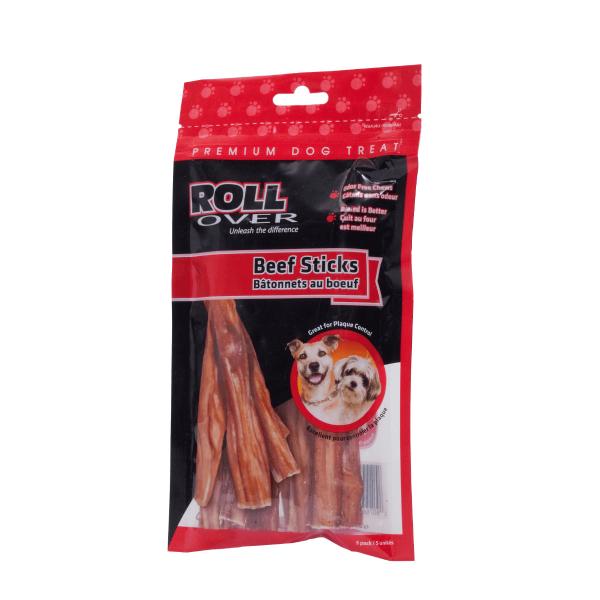 Rollover Premium Pet Food - 150 - Beef Sticks - 5pk 43-600-5
