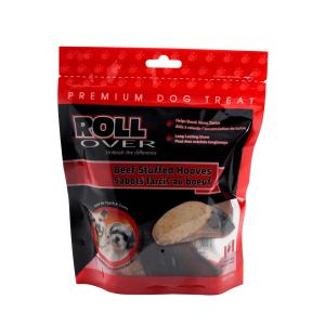 Rollover Premium Pet Food - 151 - Beef Stuffed Hooves - 2pk 61-200-B