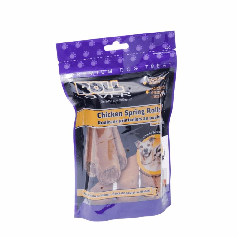 Rollover Premium Pet Food - 153 - Chicken Spring Rolls - 3pk PH-2MS-3