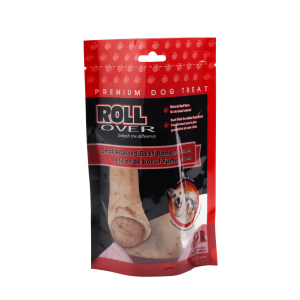 Rollover Premium Pet Food - 166 - Small Roasted Beef Bone (Beef Stuffed) 60-400-1