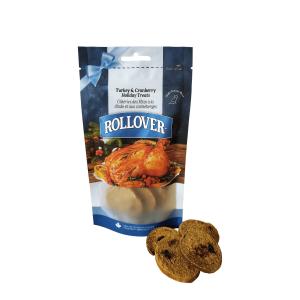 Rollover Premium Pet Food - 237 - Turkey-Cranberry Biscuits 185g 27-003-185
