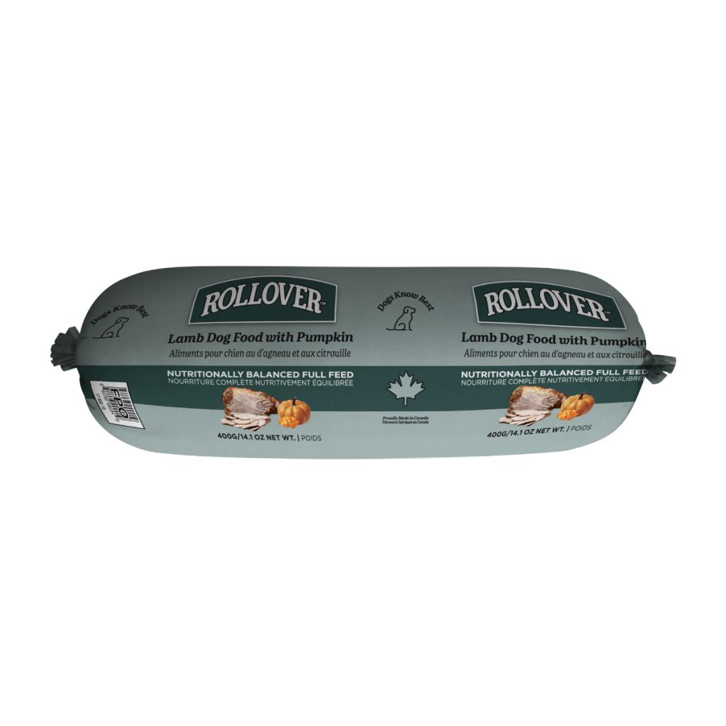 Rollover Premium Pet Food - Product ID 265 - Lamb and pumpkin dinner 400g - 17-400-10
