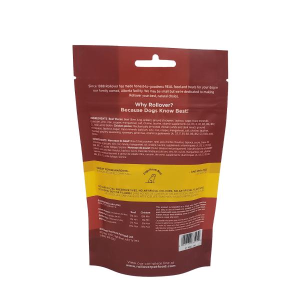 Rollover Premium Pet Food - Product ID 269 - Grain Free Party-Stix-Mix - 21-M02-100 - Back