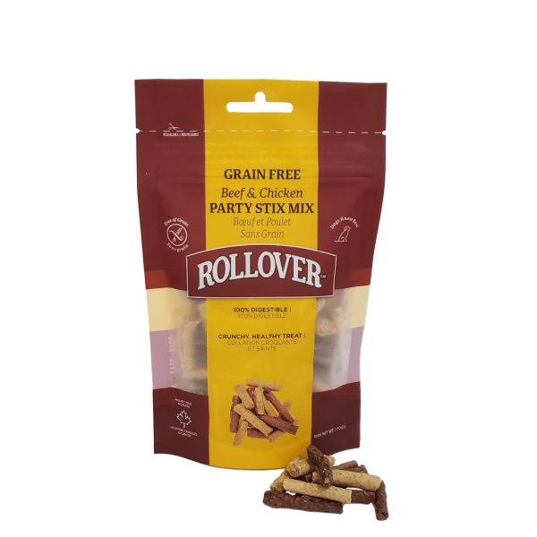 Rollover Premium Pet Food - Product ID 269 - Grain Free Party-Stix-Mix - 21-M02-100 - with Product